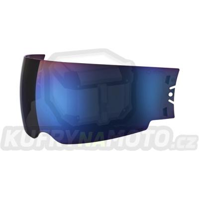 Modrá sluneční clona pro přilbu SCHUBERTH C3 Pro, S2, E1, M1