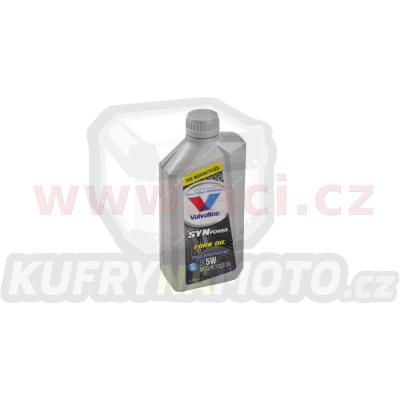 VALVOLINE SYNPOWER FORK OIL 5W tlumičový olej pro motocykly 1 l