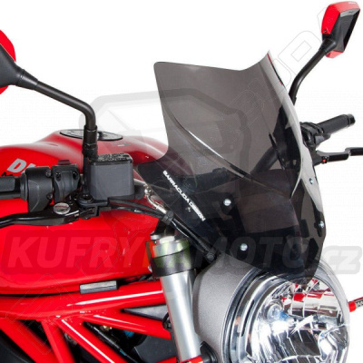 Plexisklo štít AEROSPORT Barracuda Ducati Monster 1200 všechny r.v.