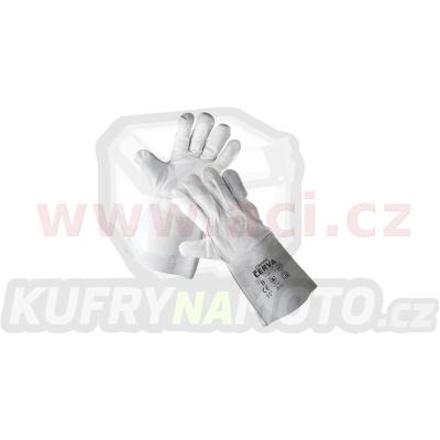svářečské celokožené rukavice MERLIN (velikost univerzální)