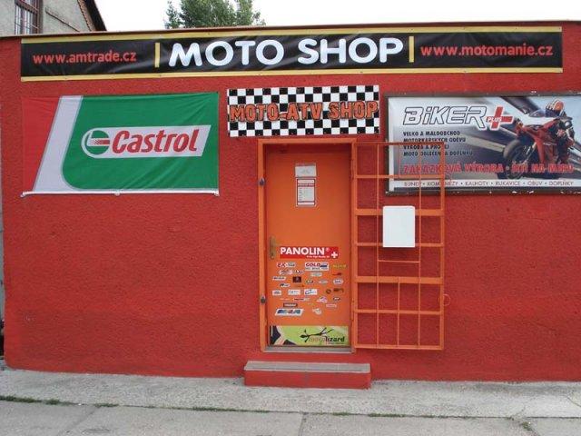 Osobní převzetí Ostrava Motoshop