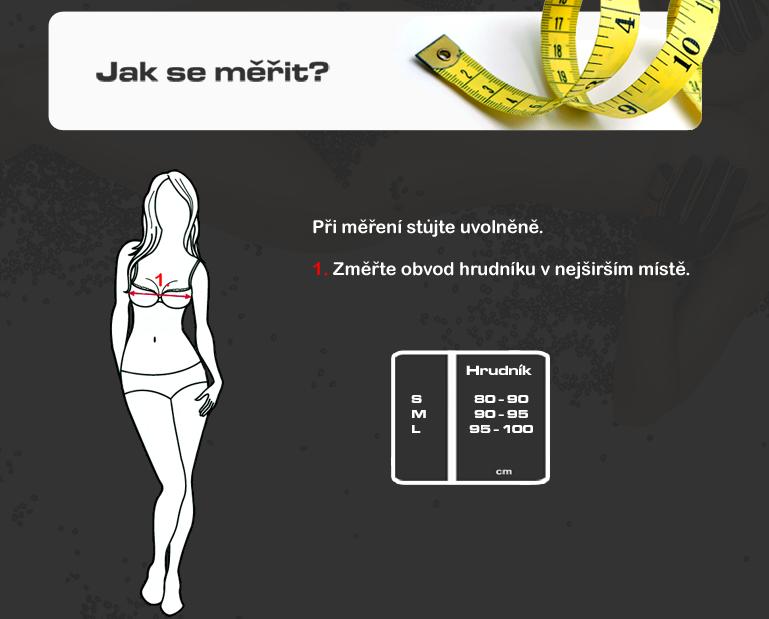 Tabulka dámské trika 4SR